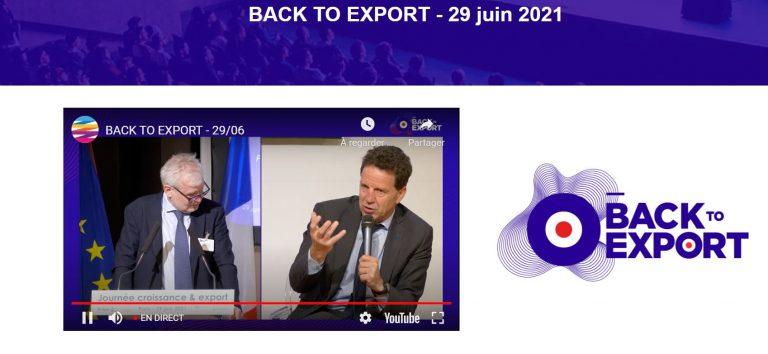 Aroma Project Booster participe à l'événement Back to Export 🌍🚀