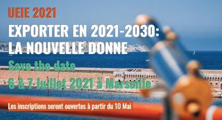 Rejoignez-nous à l'UEIE les 6&7 Juillet à Marseille!