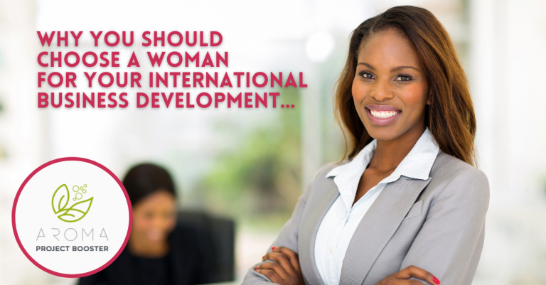 Why you should pick a woman for your international business development